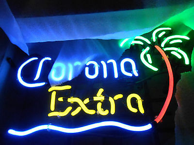 Corona Neon Sign Palm Tree