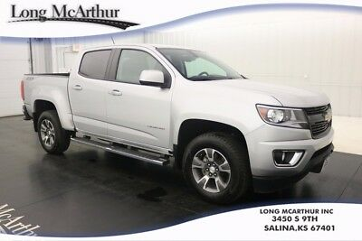 2016 Chevrolet Colorado Z71 4WD CHEVY CREW CAB 6-SPEED AUTOMATIC TRUCK ONE OWNER! , CLOTH LEATHERETTE SEAT TRIM, EXTERIOR REAR PARKING CAMERA, ONSTAR