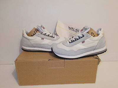BNIB Made in England Norman Walsh trainers with Vibram soles size UK 3