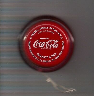 Used Coca-Cola Yo-Yo Galaxy S 300 Made In The Phillipines As Is