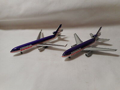 Dragon Wings - Diecast 1:400 Scale Federal Express DC-10/MD-11 Airplane Set