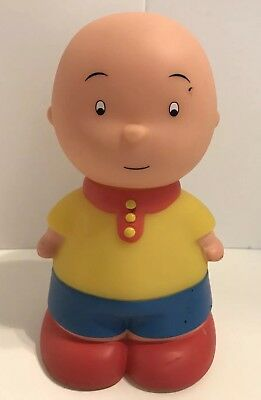 "Caillou Famosa Toy Doll 6.5"" Tall Vtg Squeaky"
