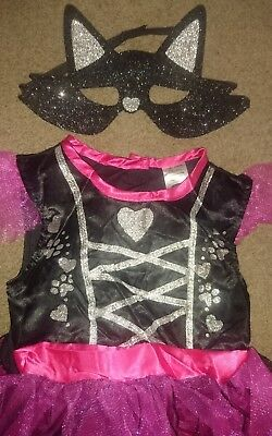 Baby Girls Kitty Cat Halloween Costume Fancy Dress 18-24 Months 1.5-2yrs BNWT