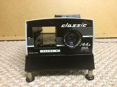 Vintage Gnome Classic Slide Projector, Working!