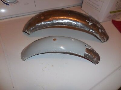 Indian Mm5A Fenders Front And Rear Late Model Originals - For Restoration