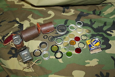 Mixed Lot of 25+ Vintage Series V 5 Filters Adapter & Light Meters