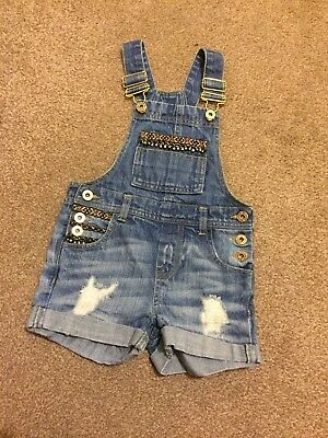 girls dungarees 3-4 River Island