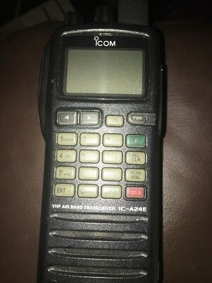 Icom IC-A24E VHF Air Band Transceiver