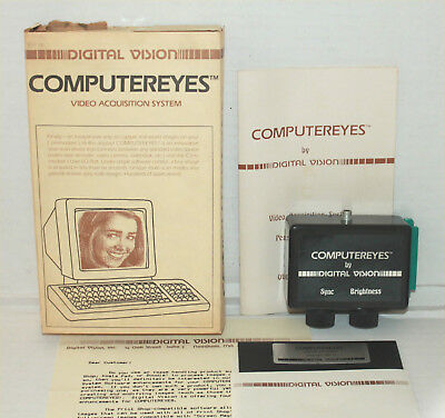 1984 Digital Vision COMPUTEREYES Video Acquisition System for COMMODORE Computer