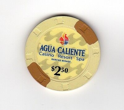$2.50 Agua Caliente, Rancho Mirage, CA  Great chip!!!