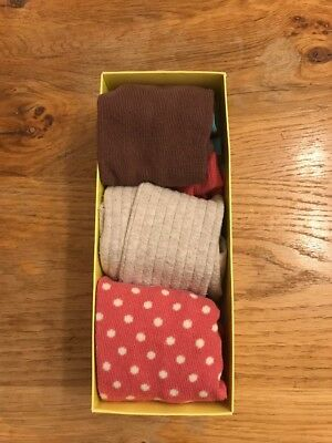 Girls Baby Boden Box Set Tights 12-24 Months EUC 1 Pair BN
