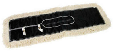 "Quickie 0694CNRM 24"" Janitorial Dust Mop Replacement Refill Cotton Head 630"