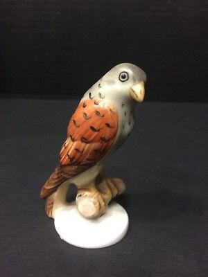 Herend Small Handpainted Hawk