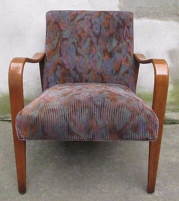THONET BENT WOOD ARM CHAIR - ONLY ONE STILL AVAILABLE mid century modern lounge