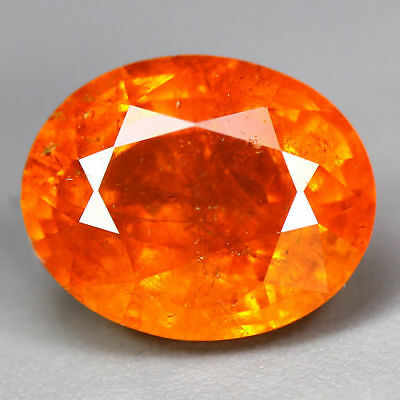 4.88 Cts_Glittering !! Electric Fire_100 % Natural Mandarin Spessartite Garnet