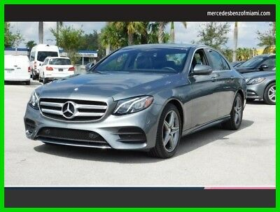 2017 Mercedes-Benz E-Class E 300 Luxury 2017 E 300 Luxury Used Certified Turbo 2L I4 16V Automatic All Wheel Drive Sedan