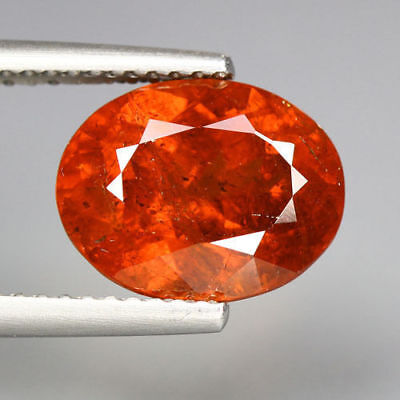 5.15 Cts_Unbelievable Rare To Find_100 % Natural Spessartite Garnet_Srilanka
