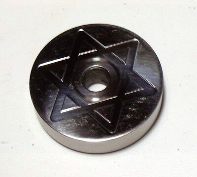 "7"" Adattatore in Alluminio per 45 giri   7"" Spindle 45 RPM Adapter Aluminum"