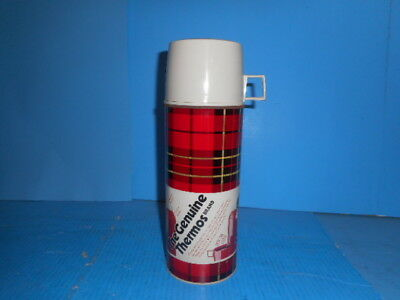 Vintage Genuine Thermos With Paper Label