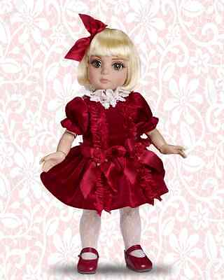 """NEW! Effanbee Tonner PATSY'S A VISION IN VELVET 10"""" Dressed Doll - NRFB"""