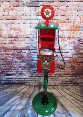 Texaco gas gumball dispenser candy machine game room gift man cave accessories