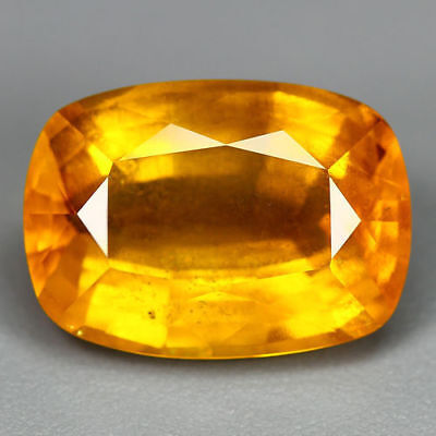 7.58 Cts-Unbeatable Price-Electric Fire Golden Yellow-100 % Natural Yellow Beryl