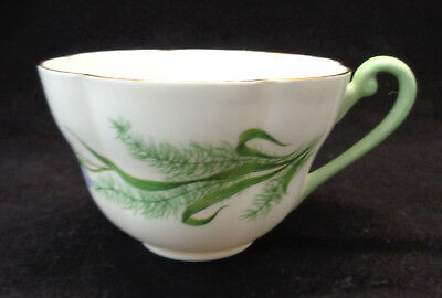 Fern & Blue Bell Shelley China Cup No Saucer