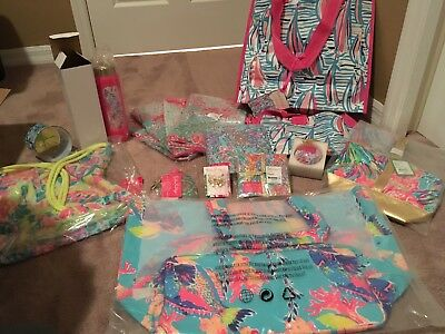 Authentic Lg Lot of Lilly Pulitzer items - SUPER FUN!!