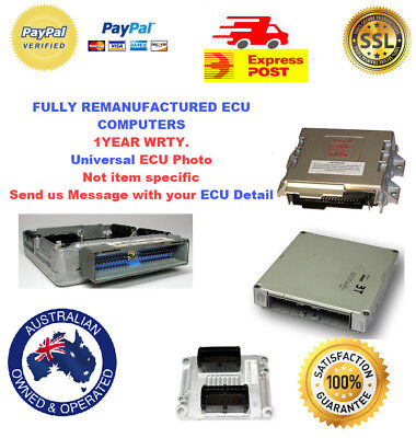 Holden Commodore Vl Manual Ecm Ecu 3Em Gmh Part No 92031689