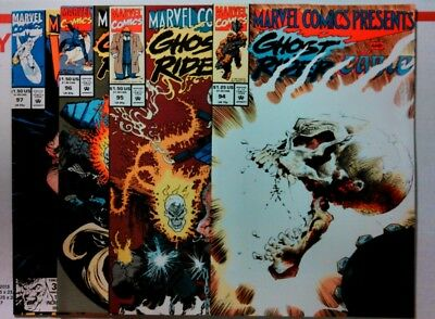 MARVEL COMICS PRESENTS (1988) #94 95 96 97 NEAR MINT Wolverine Cable Ghost Rider