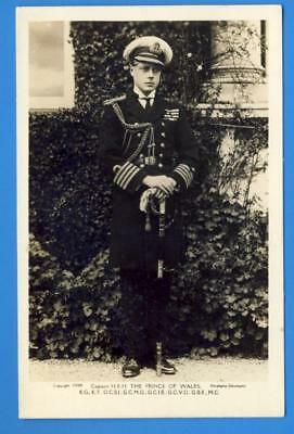 Captain H.R.H. The Prince Edward of Wales (Future King Edward VIII) photo pc