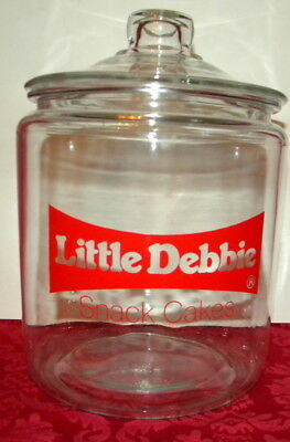 Little Debbie Snack Cakes Cookie Jar Store Counter Display or Kitchen~Nice!