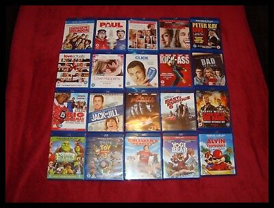 Blu Ray Joblot Of 20 Films Ideal To Add To Your Film Collection Take A Look