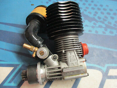 Novarossi Top 3.5cc PT 1/8 engine motor, with STS cooling head