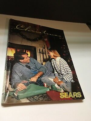 Vintage 1987 SEARS CHRISTMAS Catalog Department Store