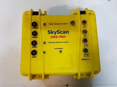 Skyscan EWS PRO Professional Lightning Detector