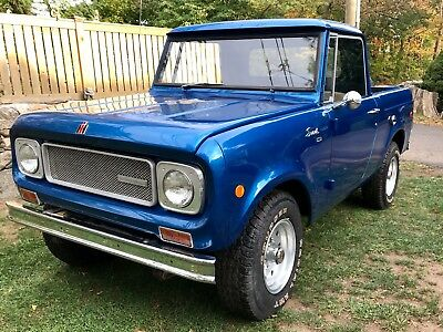 1970 International Harvester Scout  1970 International Scout 800A Rust Free 41,000 miles