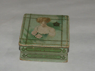 Antique Advertising J'andalon Complexion Powder Box Franco American Hygiene Co