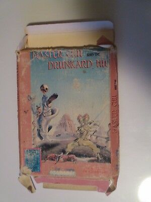 Master Chu and the Drunkard Hu (NES) Original Box Only! POOR Condition