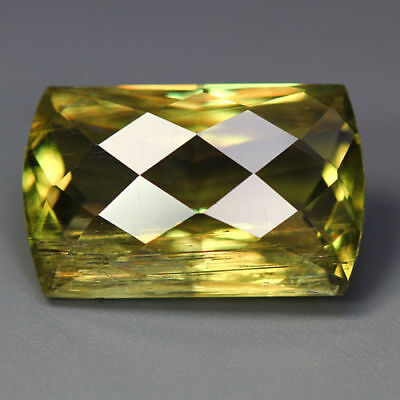 14.54 Cts_Romantic Checkerboard Fancy_100 % Natural Color Change Diaspore_Turkey