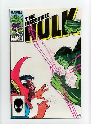 Incredible Hulk #299 Frank Cirocco Dr. Strange Cover (Marvel 1984) NEAR MINT-