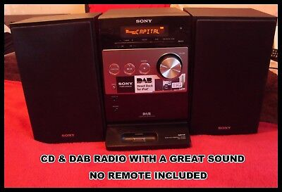 Sony Micro System Model CMT-FX350i Cd & Dab Radio With A Great Sound Take A Look