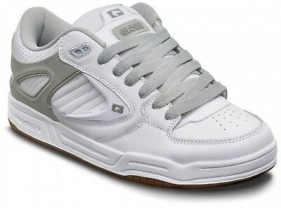 Globe Agent Mens Shoes in White Grey Gum