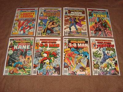 Large Bronze Age Lot Of 23 Marvel Premiere