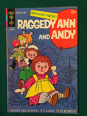 Raggedy Ann And Andy #1 Gold Key Comic Book Vf