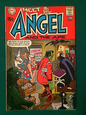 Angel And The Ape #6 1St Series Dc Comics