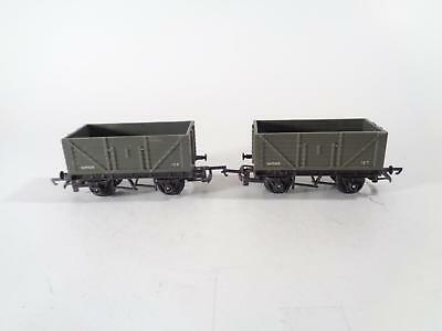 TRIANG R10 7-pl Grey Open Wagon W1005 - EXCL PAIR