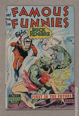 Famous Funnies Issue 210 Frazetta Cover with Incorrect Interior