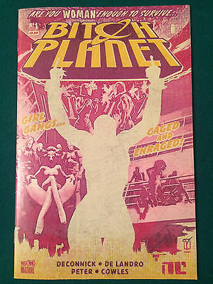 BITCH PLANET #1  1ST PRINT Written by Kelly Sue DeConnick