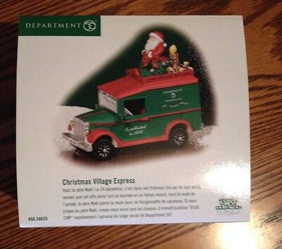 Department 56 Heritage Villiage Christmas Village Epress